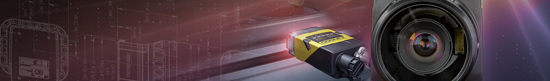 Blog banner of Cognex small Dataman and up close lens