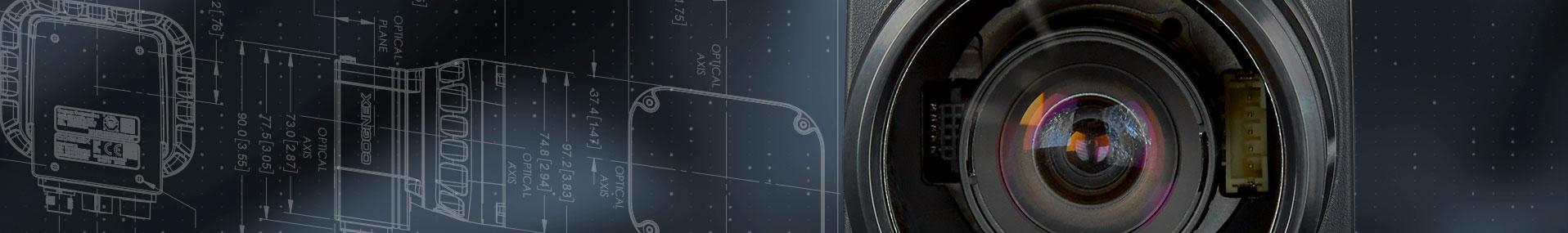 Cognex Machine Vision lens over insight blueprint