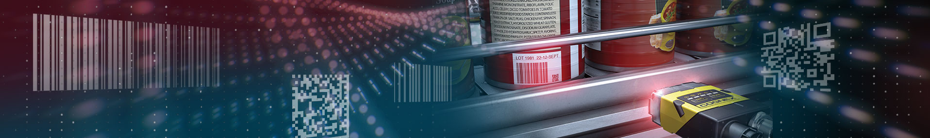 Barcode Reading on can using dataman and floating code examples