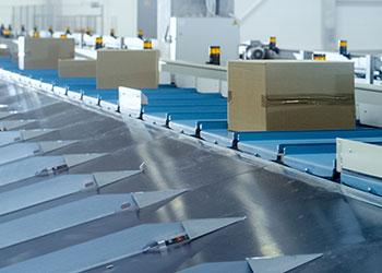 Automated parcel sortation