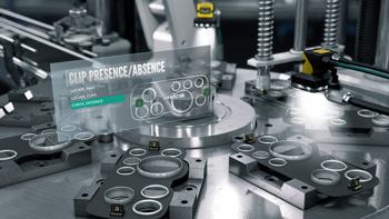 Automotive Clip Presence absence check with cognex insight cameras