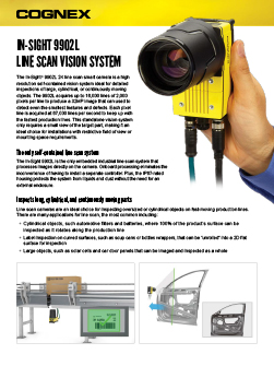 In-Sight 9902L Line Scan Vision System
