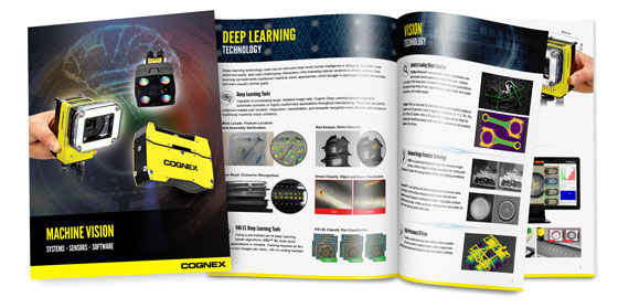 Machine Vision Product Guide spread image