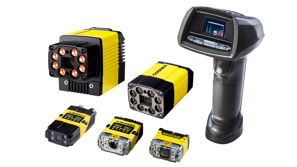 ESD-Safe Group of Cognex Barcode Readers Scanners