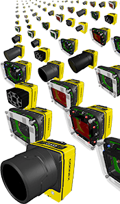 In-Sight 7000 varied configurations available