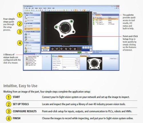 Cognex Easybuilder screen